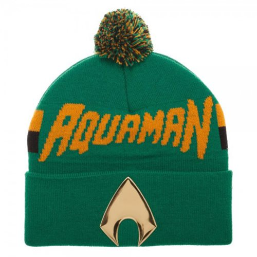 Aquaman Chrome-Weld Knit Beanie