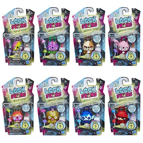 Lock Stars Basic Assortment Mini-Figures Wave 3 Case