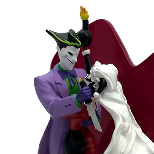 DC Comics Joker and Harley Quinn Wedding Cake Topper Style Statue
