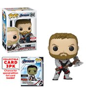 Avengers: Endgame Thor Pop! Vinyl Figure with Collector Cards - Entertainment Earth Exclusive