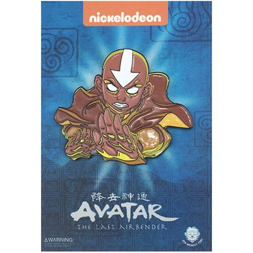 Avatar: The Last Airbender Aang Statue Pin