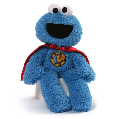 Sesame Street Cookie Monster Superhero 12-Inch Plush