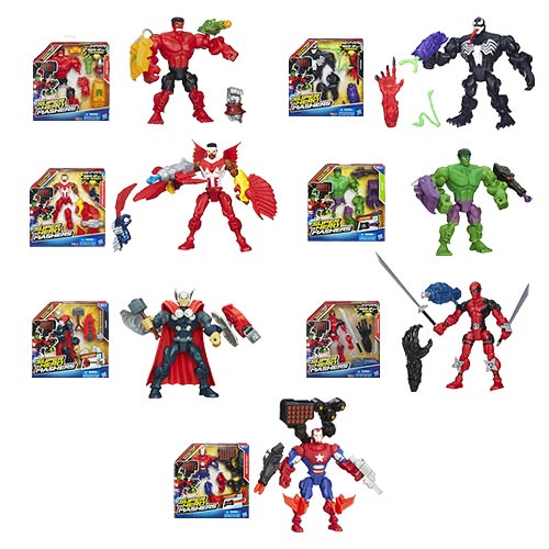 Marvel Super Hero Mashers Upgrade Action Figures Wave 3