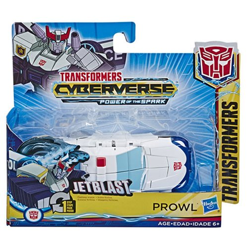 Transformers Cyberverse Action Attackers 1-Step Changer Prowl