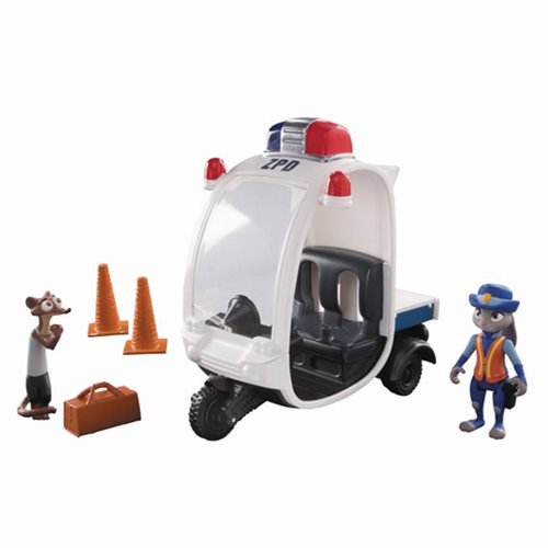 Zootopia Meter Maid Pursuit Vehicle Mini-Figure Playset