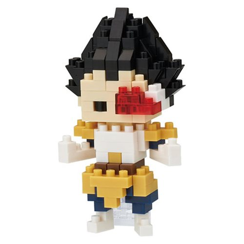 Dragon Ball Z Vegeta Nanoblock Constructible Figure