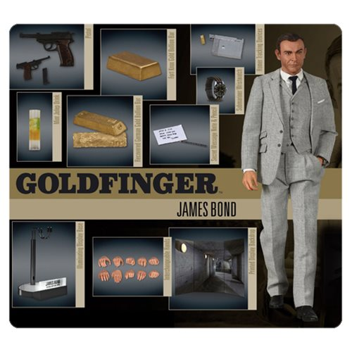 James Bond Goldfinger James Bond 1:6 Scale Action Figure