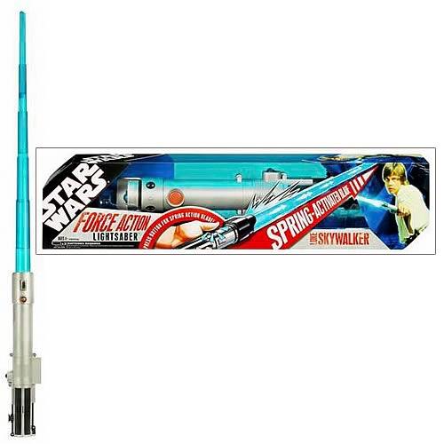 Star Wars Force Action Luke Skywalker Lightsaber Entertainment Earth