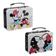 Disney Mickey Mouse and Minnie Mouse Large Tin Tote