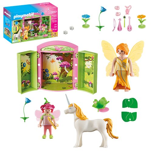 Playmobil 5661 Fairy Garden Play Box