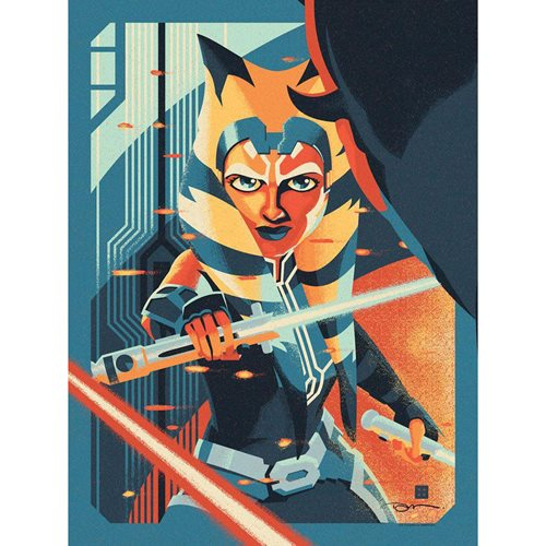 Star Wars Rebels The Phantom Apprentice by Danny Haas Lithograph Art Print