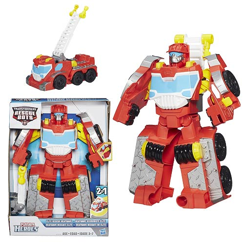 Transformers Rescue Bots Elite Rescue Heatwave the Fire-Bot Figure
