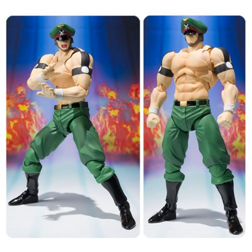 Kinnikuman Brocken Jr. Original Color Ed. SH Figuarts Action Figure