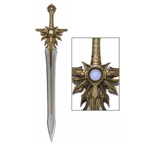 Diablo III El'Druin The Sword of Justice Prop Replica