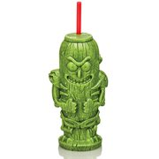 Rick and Morty Pickle Rick 22 oz. Geeki Tikis Plastic Tumbler