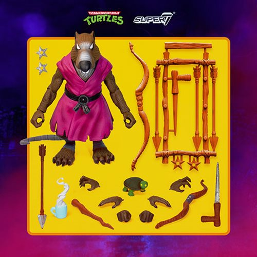 Teenage Mutant Ninja Turtles Ultimates Splinter 7-Inch Action Figure
