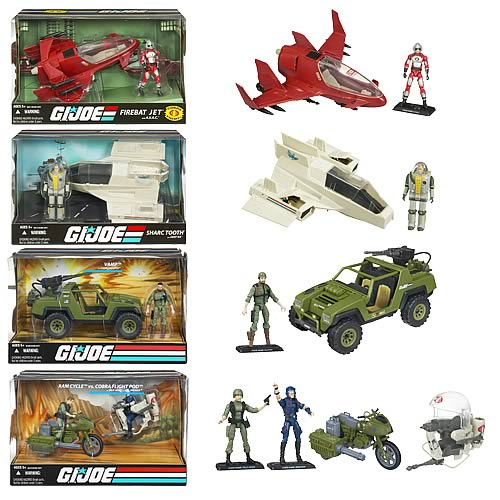 G.I. Joe Vehicles with Action Figures Wave 2
