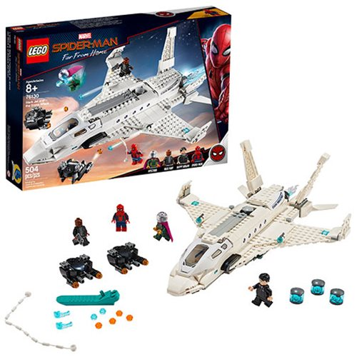 LEGO 76130 Marvel Super Heroes Stark Jet & the Drone Attack