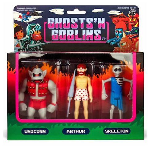 Ghosts n Goblins 3 3/4-Inch ReAction Figure Pack B