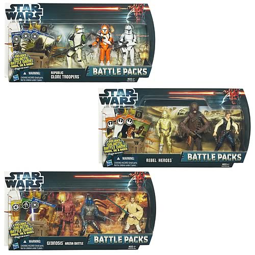 Star Wars Battle Packs 2012 Wave 1 Set