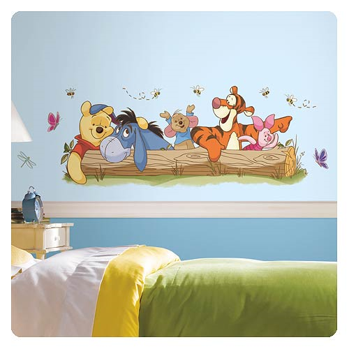 Winnie the Pooh Outdoor Fun Giant Wall Decal