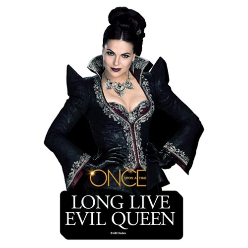 once upon a time evil queen quote funky chunky magnet