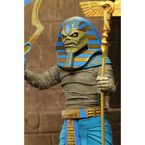 Iron Maiden Pharoah Eddie Clothed 8-Inch Action Figure