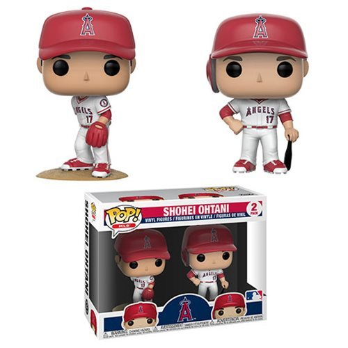 Mlb Angels Shohei Ohtani Pop Vinyl Figure 2 Pack Entertainment