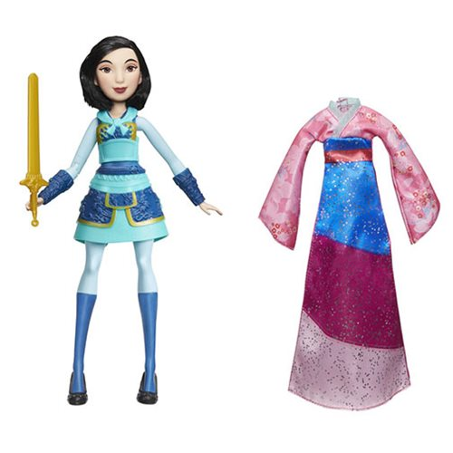 Disney Princess Fearless Adventures Mulan Doll