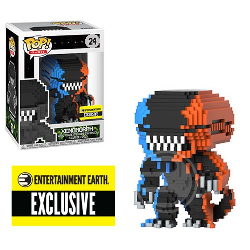 Alien Video Game Deco 8-Bit Pop! Vinyl Figure - Entertainment Earth Exclusive