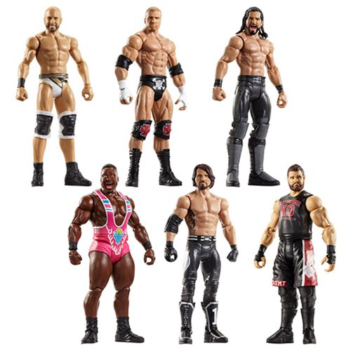 WWE Basic Figure Series 73 Action Figure Case