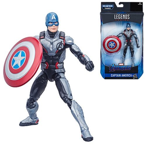 Avengers Marvel Legends 6-Inch Endgame Captain America Action Figure