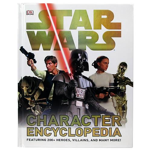 Star Wars Character Encyclopedia Book