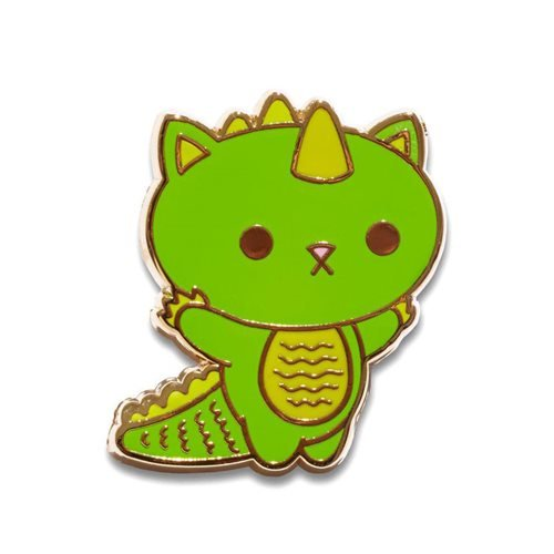 Kaiju Kitties Boomu Pin