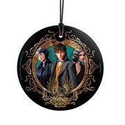 Fantastic Beasts: The Crimes of Grindelwald Phoenix Emblem StarFire Prints Hanging Glass Ornament