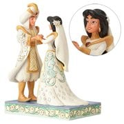 Disney Traditions Aladdin Jasmine and Aladdin Wedding Statue
