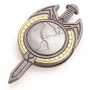 Star Trek: The Next Generation Mirror Universe Magnetic Insignia Badge