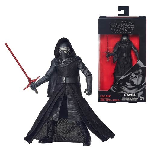 Star Wars The Force Awakens The Black Series Kylo Ren 6-Inch Action Figure