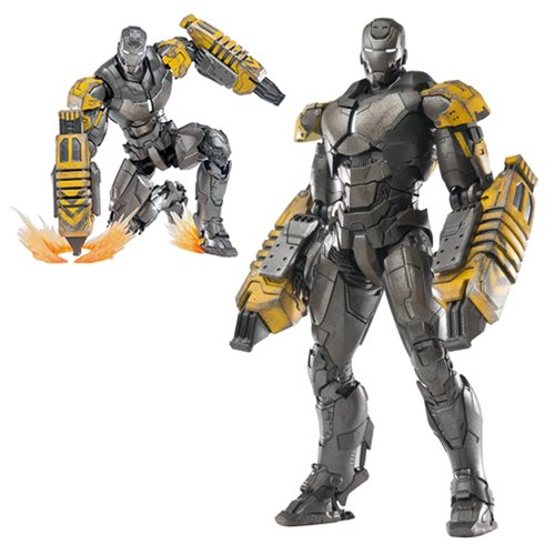 Iron Man 3 Mark 25 Striker Die-Cast Metal Action Figure