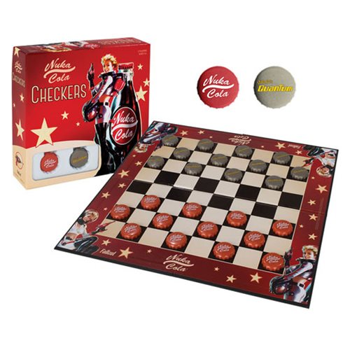 Fallout Nuka-Cola Checkers