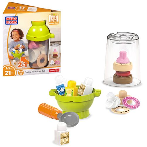 Mega Bloks First Builders Cookie Jar Baking Set