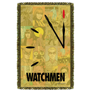 Watchmen Doomsday Woven Tapestry Throw Blanket