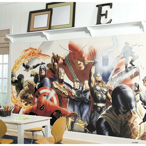 Marvel Adam Ross Peel and Stick Wall Mural