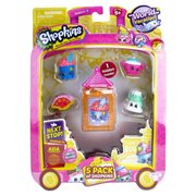Shopkins Series 8 Wave 2 Mini-Figures 5-Pack