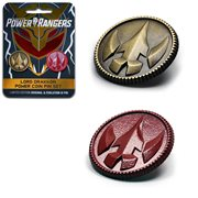 Mighty Morphin Power Rangers Lord Drakkon Power Coin Pin Set