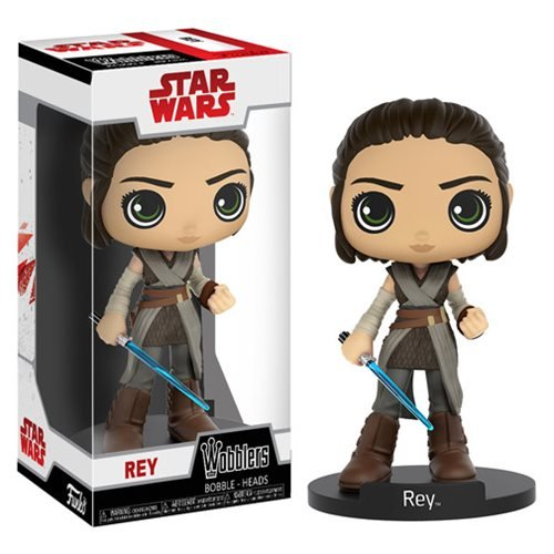 Star Wars: The Last Jedi Rey Wobbler Bobble Head