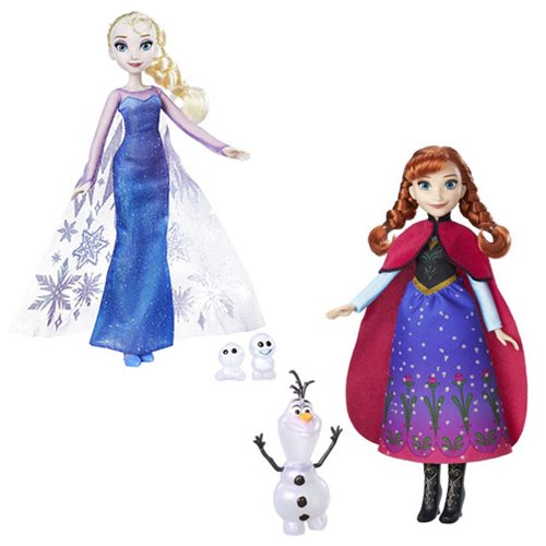 Frozen Fashion Dolls 2017 Wave 1 Case