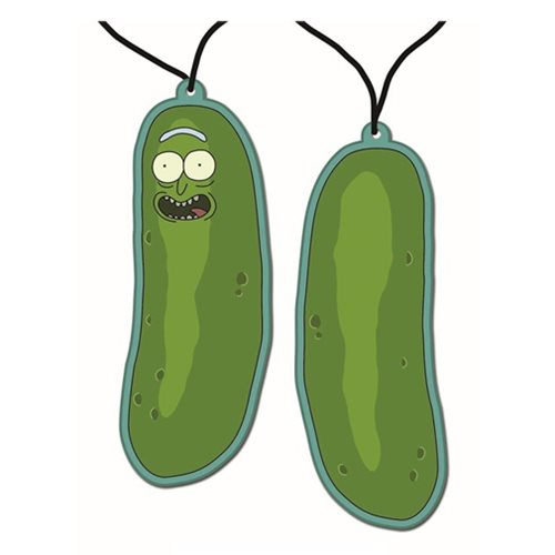 Rick and Morty Pickle Rick Air Freshener
