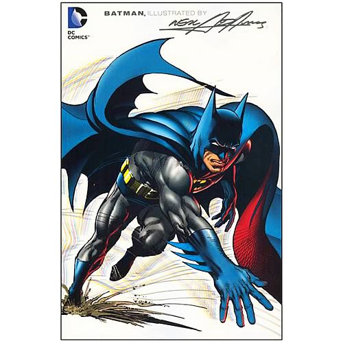 Batman Illustrated by Neal Adams Graphic Novel