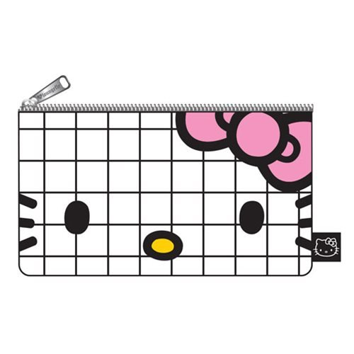 Hello Kitty Graph Lines Pencil Case